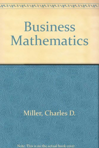 9780673467423: Business Mathematics