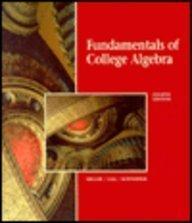 9780673467430: Fundamentals of College Algebra