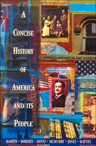 9780673467805: A Concise History of America and Its People
