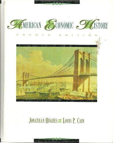 9780673468680: American Economic History (The harpercollins series in economics)