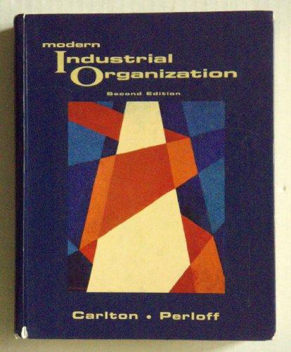9780673469021: Modern Industrial Organization