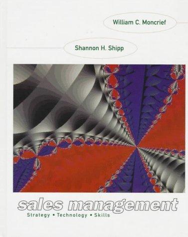 9780673469038: Sales Management