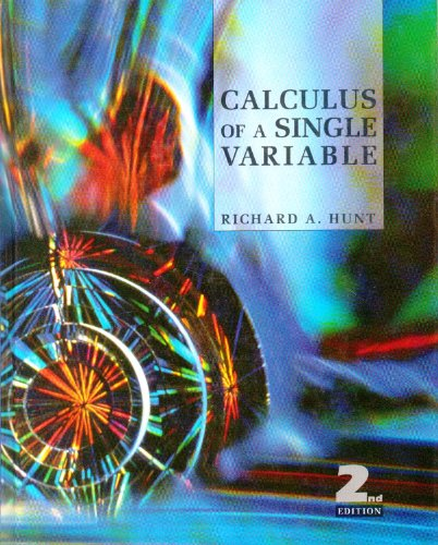 9780673469274: Calculus of a Single Variable