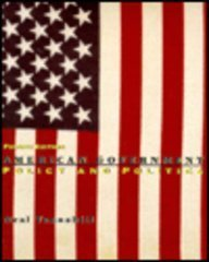 9780673469298: American Government: Policy and Politics