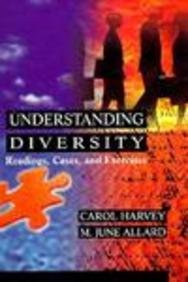 9780673469960: Understanding Diversity: Readings, Cases, and Exercises