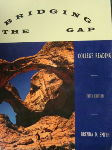 9780673480002: Bridging the Gap Fifth Edition