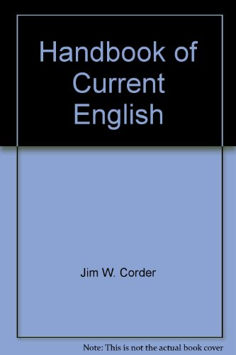 9780673488848: Handbook of Current English