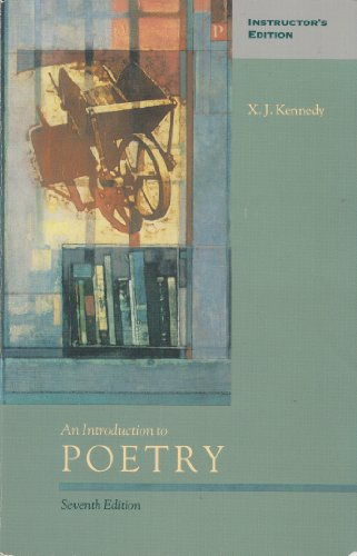 9780673498601: An introduction to poetry
