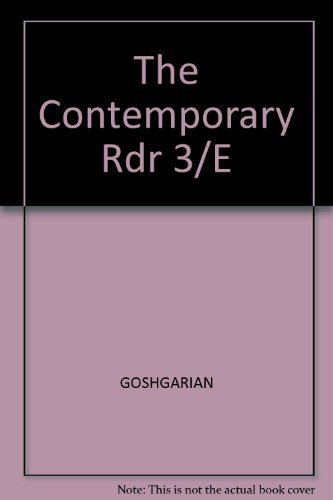 9780673520012: The Contemporary Rdr 3/E