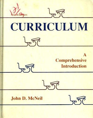 9780673520210: Curriculum: A Comprehensive Introduction