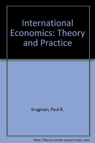 9780673521040: International Economics: Theory and Policy