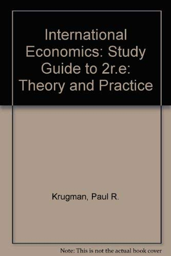 9780673521057: International Econ: Theory and Policy