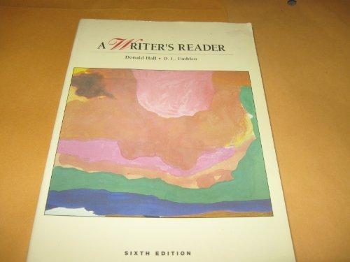 9780673521200: A Writer's Reader