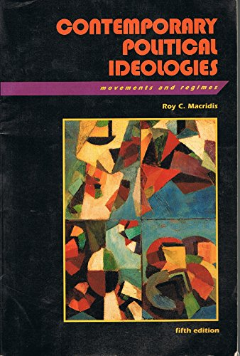 9780673521651: Contemporary Political Ideologies: Movements and Regimes