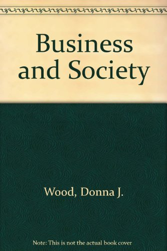 9780673522634: Business and Society