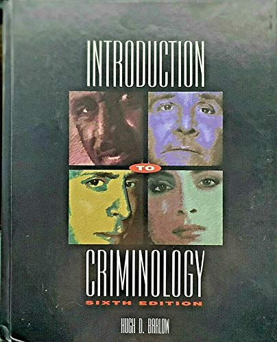 9780673522658: Introduction to Criminology