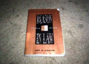 9780673522696: Reason in Law
