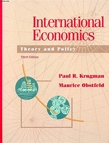 International Economics: Theory and Policy: Krugman, Paul R.,