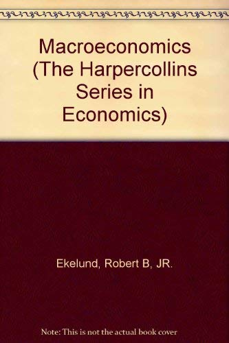 9780673523037: Macroeconomics (The Harpercollins Series in Economics)