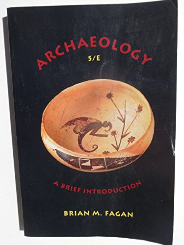 9780673523365: Archaeology: A Brief Introduction