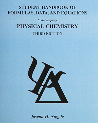 9780673523426: Students Handbook of Formulas, Data and Equations