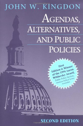 9780673523891: Agendas, Alternatives, and Public Policies (2nd Edition)