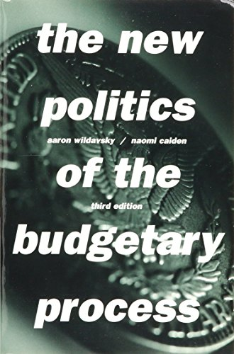 9780673524621: The New Politics of the Budgetary Process