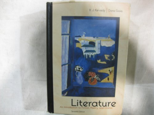 9780673525529: Literature : An Introduction to Fiction, Poetry and Drama