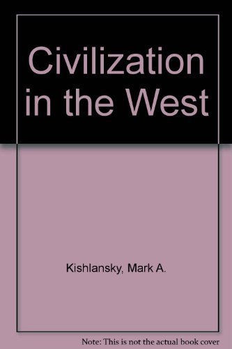 9780673536020: Civilization in the West [Taschenbuch] by Kishlansky, Mark A.