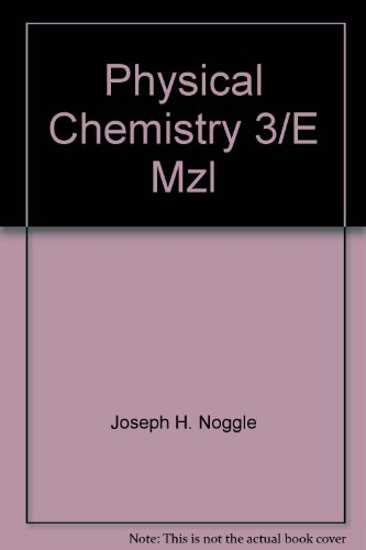 9780673543653: Physical Chemistry 3/E Mzl