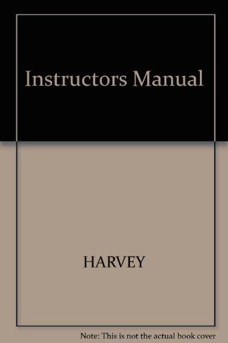 9780673558329: Instructors Manual