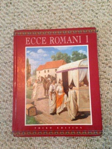9780673575852: ECCE ROMANI HARDCOVER STUDENT EDITION LEVEL 1 2000C