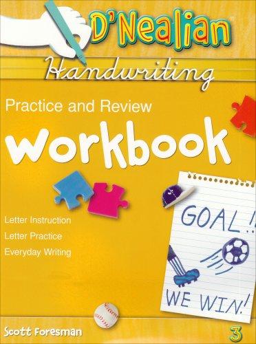 9780673576392: D'Nealian Handwriting Practice & Review Workbook, Grade 3
