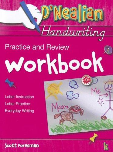 9780673576408: D'Nealian Handwriting Practice and Review Workbook, Grade K