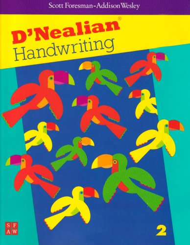 9780673592156: DNEALIAN HANDWRITING 1999 STUDENT EDITION (CONSUMABLE) GRADE 2