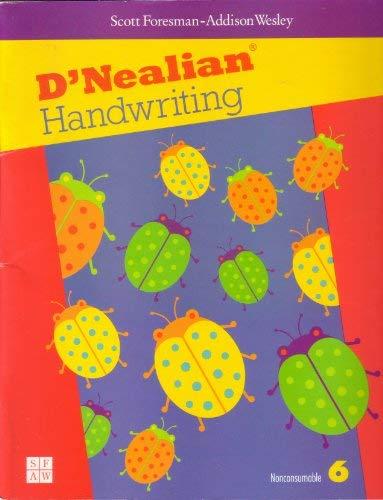 9780673592262: D'Nealian Handwriting, Grade 6