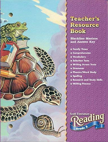 9780673611239: Teacher's Resource Book Blackline Masters and Answer Key Grade 5 (Scott Foresman Reading)