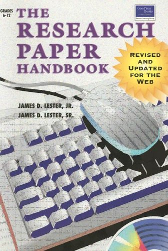 9780673617347: Research Paper Handbook Revised