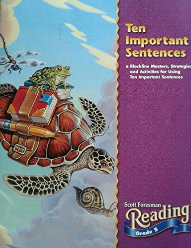9780673624918: Ten Important Sentences Grade 5