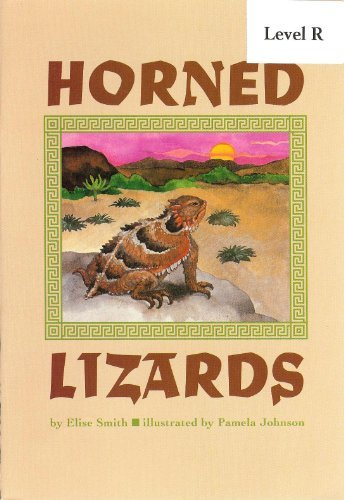 Horned Lizards: Elise Smith