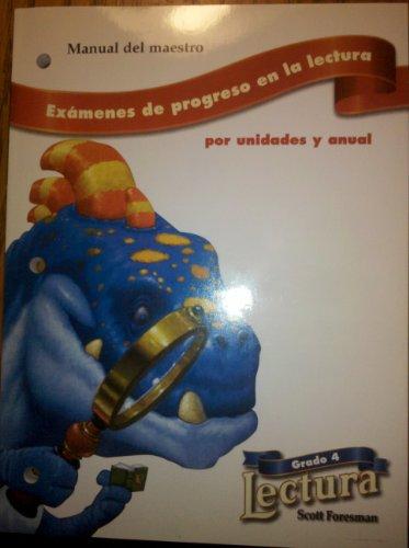 Examenes de progreso en la lectura, por: Addison Wesley Publications