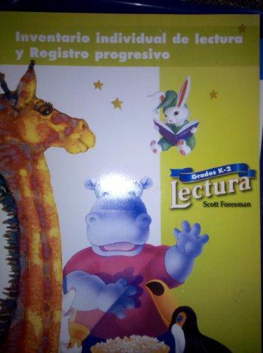 9780673647450: Inventario individual de lectura y Registro progresivo, Grados K-2 (Lectura)