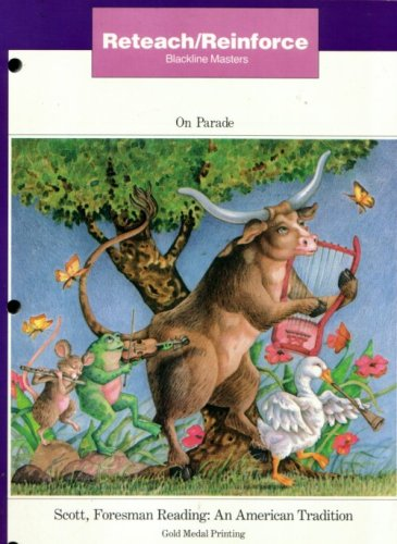 4 books, On Parade: Reteach/Reinforce-Blackline Masters &: Allington, Richard L.