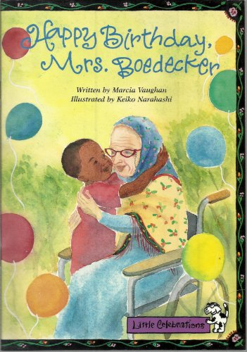 9780673757371: LITTLE CELEBRATIONS, HAPPY BIRTHDAY, MRS. BOEDECKER, SINGLE COPY, FLUENCY, STAGE 3A