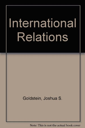 9780673973054: International Relations