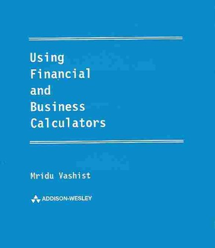 9780673975133: Ulster Financial and Business Calculators