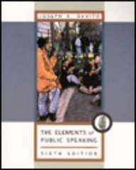 9780673980083: The Elements of Public Speaking