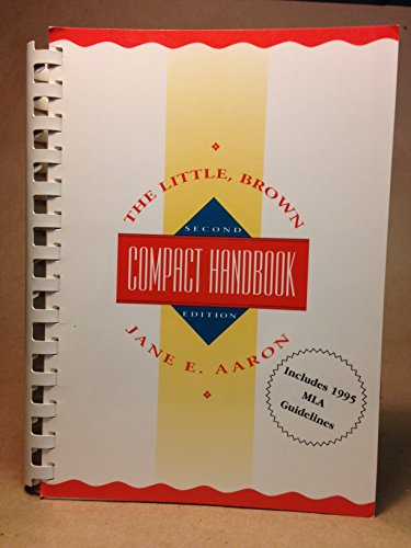 9780673980113: The Little, Brown Compact Handbook/Includes Mla Update