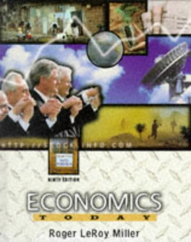 9780673980540: Economics Today (The Harpercollins Series in Economics)