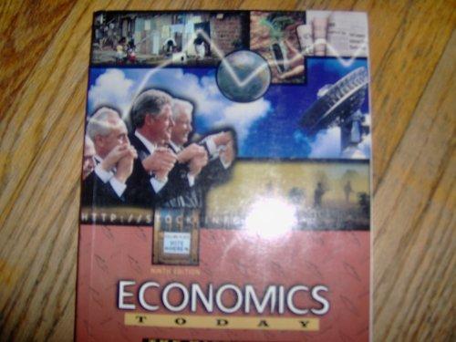 9780673980557: Economics Today: The Micro View (Harpercollins Series in Economics)